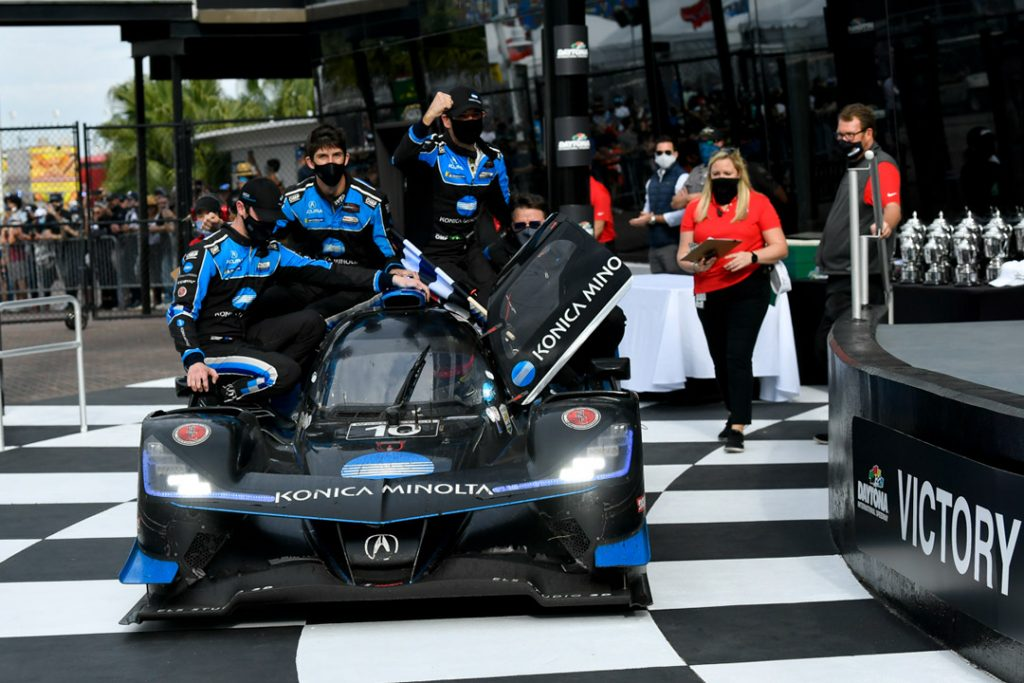 Acura Wins IMSA Rolex 24 at Daytona