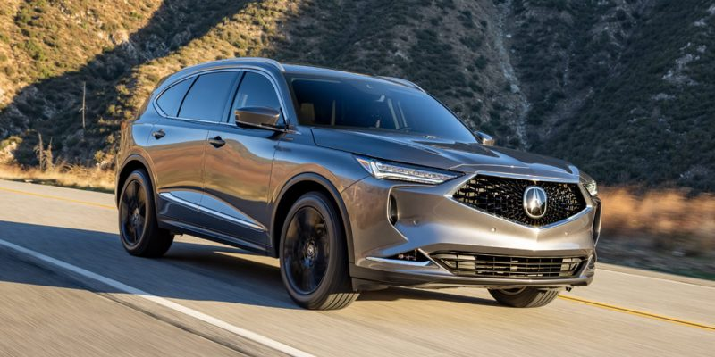 2022 Acura MDX First Drive Review List