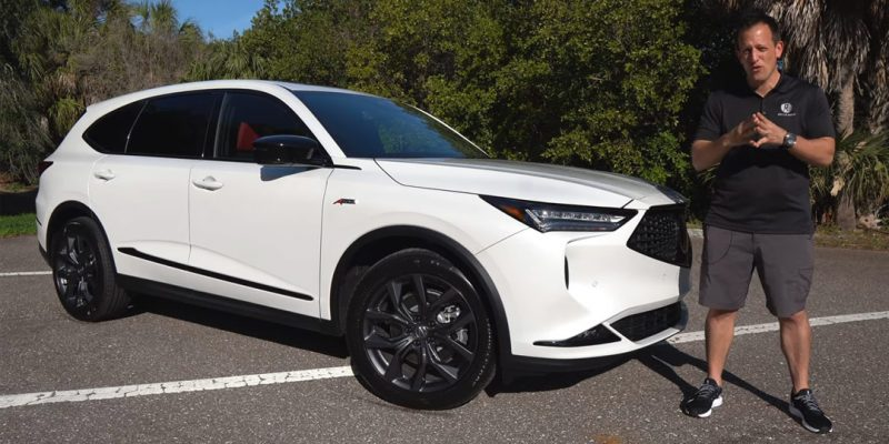 Video: 2022 Acura MDX A-Spec First Look Review