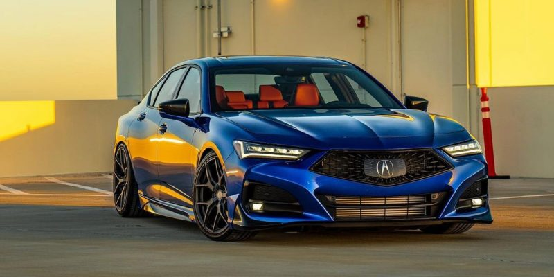 2021 Acura TLX on Vossen HF-5 | @chan_mike
