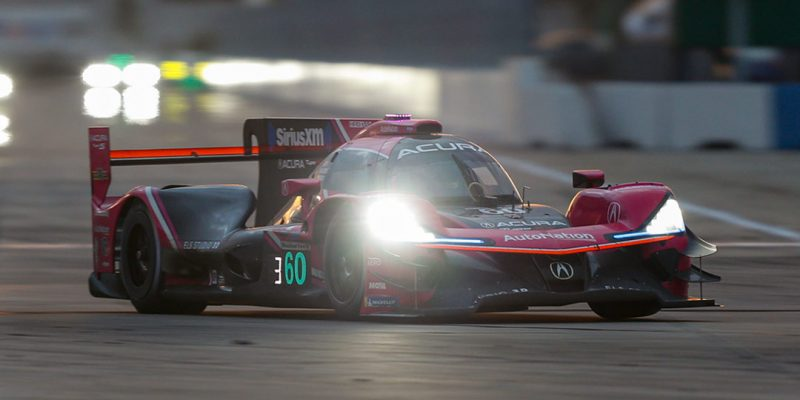 Podium Finish for Acura at the Twelve Hours of Sebring