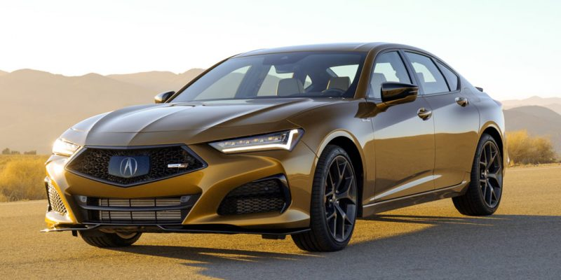 2021 TLX Type S in Tiger Eye Pearl