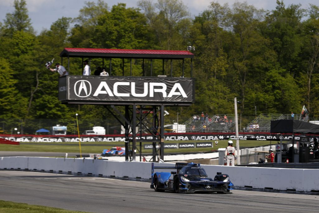 Acura Scores Fourth Consecutive Victory at Mid-Ohio