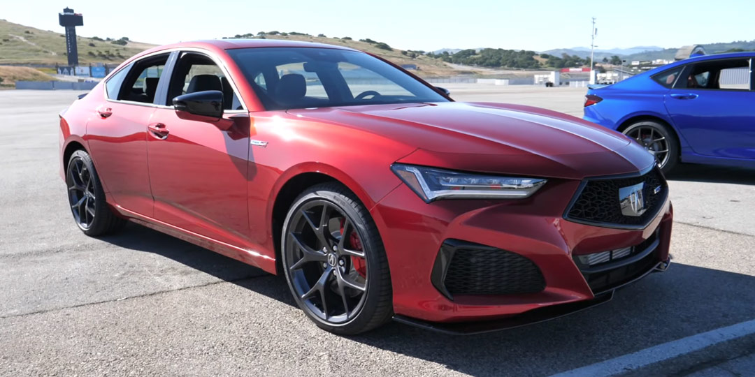 The Fast Lane Car: Hands-On Look at the Acura TLX Type S