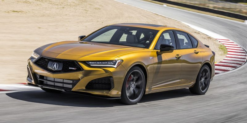 2021 Acura TLX Type S in Tiger Eye Pearl