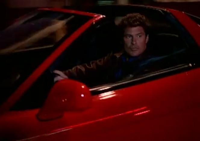David Hasselhoff's Acura NSX-T on Baywatch Nights