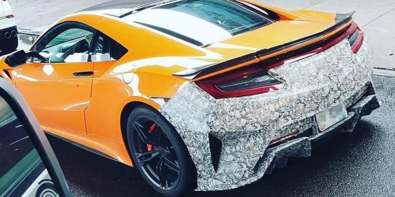 Spied: 2022 Acura NSX?