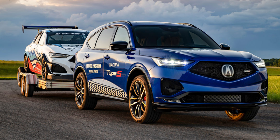 2022 MDX Type S Breaks Cover as Acura Departs for Pikes Peak Hill Climb