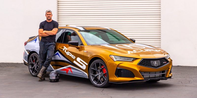2021 TLX Type S Will Pace 99th PPIHC Driven by Ant Anstead