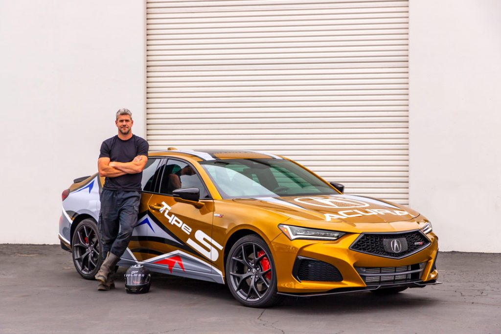 2021 TLX Type S Will Pace 99th PPIHC