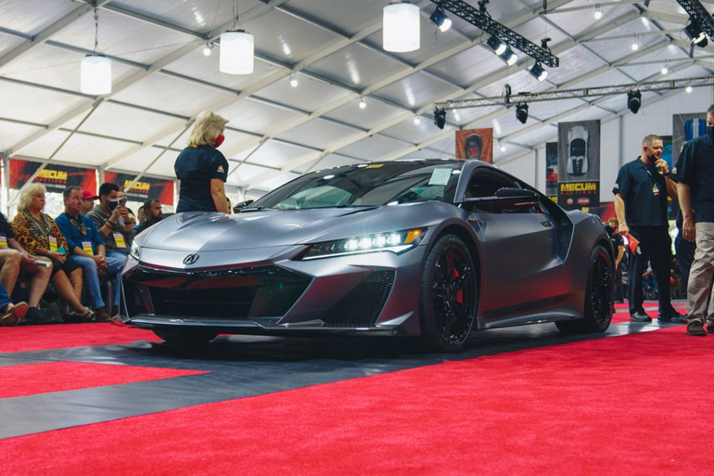 Acura NSX Type S Sells for $1.1 Million