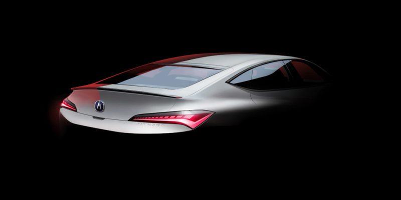 Acura Teases the All-New Integra's Sleek Five-Door Design