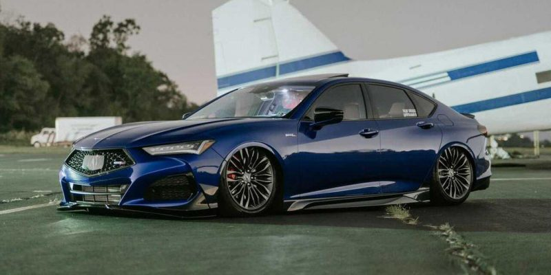 Acura TLX Type S with Air Suspension