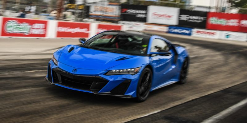 Acura NSX Type S Sets New Long Beach Production Car Lap Record