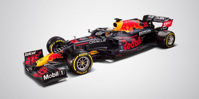 Red Bull RB16B with Acura Branding