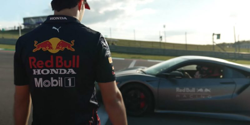 Red Bull Racing Hot Lap Challenge in an NSX Type S