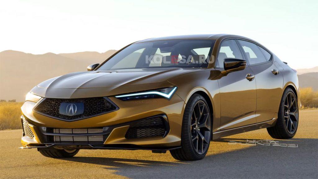 Rendered: 2023 Acura Integra