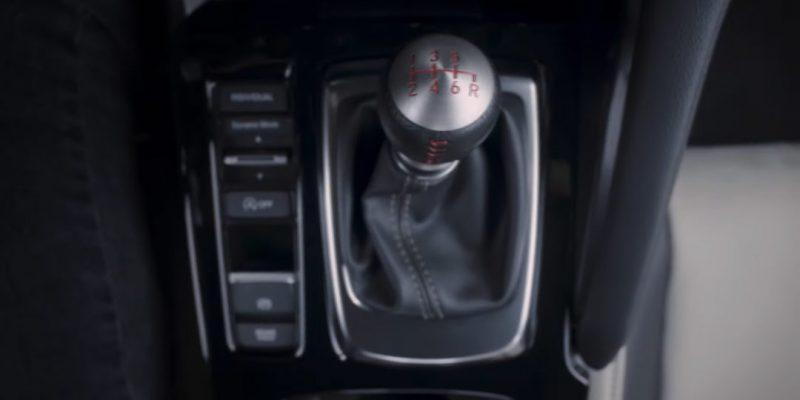 New Acura Integra Reveals Manual Transmission