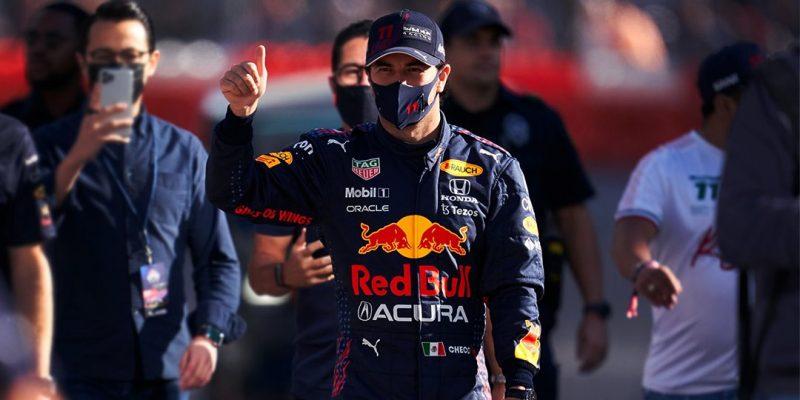 Red Bull Racing Sergio Perez's Acura Race Suit